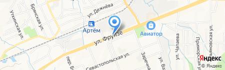Халал на карте Артёма