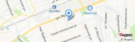 ДИВА на карте Артёма