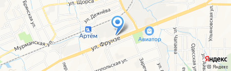 Пилот на карте Артёма