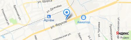 Автомеханика на карте Артёма