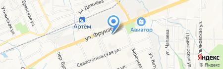 Окна-эконом на карте Артёма
