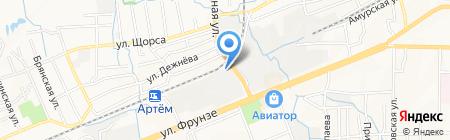 ЛеСмарт на карте Артёма