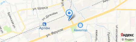 Клаксон на карте Артёма