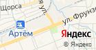 Банкомат, Банк ВТБ24 на карте
