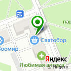 Местоположение компании Святобор