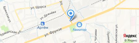 Дария на карте Артёма