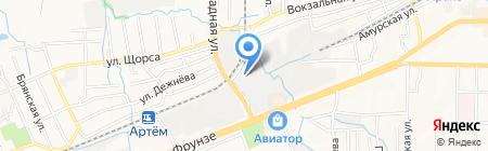 АртСтройТорг на карте Артёма