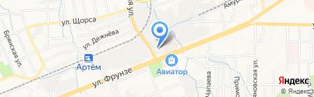 Автомойка на карте Артёма