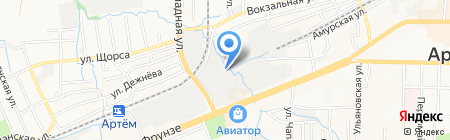 Пункт приема металла на карте Артёма