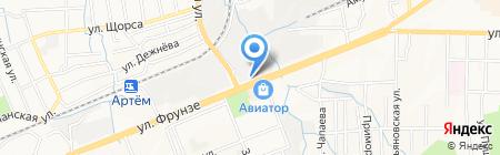 Автомаг на карте Артёма