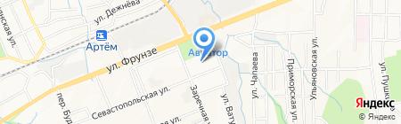 РОЯР на карте Артёма