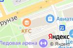 Схема проезда до компании Гермес в Артёме