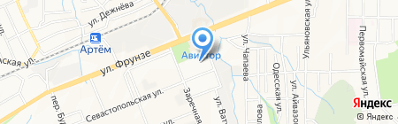 Салон оптики на карте Артёма