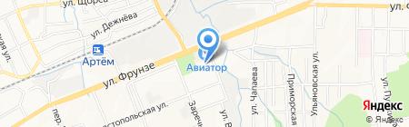 Ледовая Арена на карте Артёма