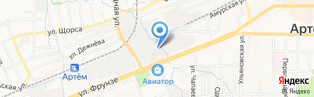 Траст-Мастер на карте Артёма