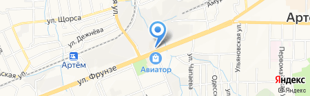 Позитив на карте Артёма