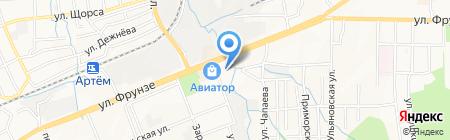 Центр физической культуры и спорта на карте Артёма
