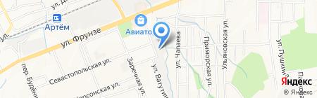 Виста на карте Артёма