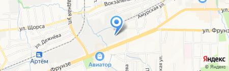 Жестяной цех на карте Артёма