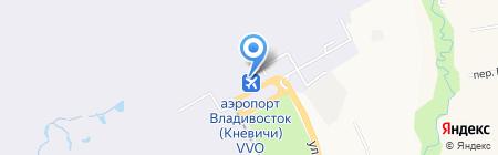 S7 Airlines на карте Артёма