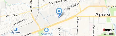 Максим на карте Артёма