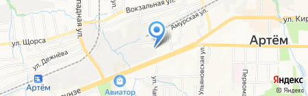 Баро на карте Артёма