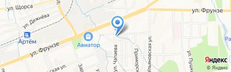 Камея на карте Артёма