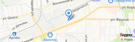 Мобилгруз на карте Артёма