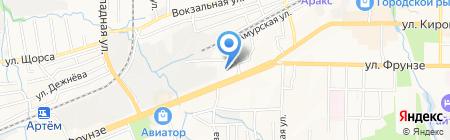ОЮИ на карте Артёма