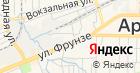 Гранит-Артем на карте
