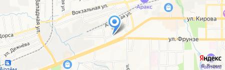 ДВМ на карте Артёма