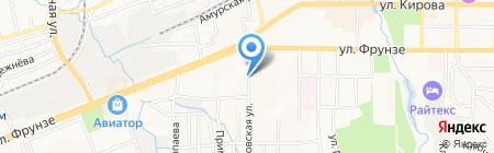Автостоянка на карте Артёма