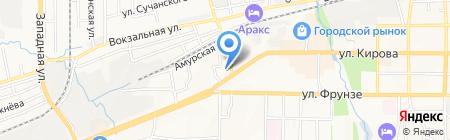 Дальневосточный банк на карте Артёма