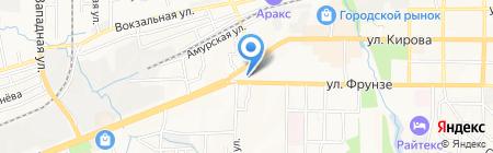 Банкомат Восточный экспресс банк на карте Артёма