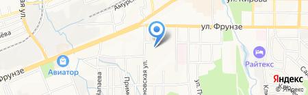 Асстом на карте Артёма