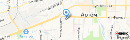 Адвокатская контора №6 на карте Артёма