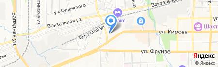 Модистка на карте Артёма