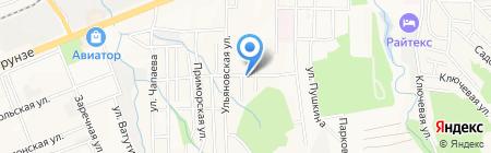 Хамелеон на карте Артёма