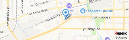 Дальневосточный банк Сбербанка России на карте Артёма