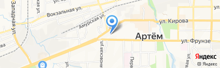 Центрофинанс Групп на карте Артёма