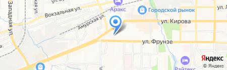 Отдел Военного комиссариата Приморского края по г. Артему на карте Артёма