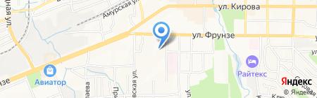 Кварц на карте Артёма