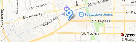 Артем на карте Артёма