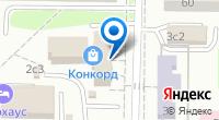 Компания DNS на карте