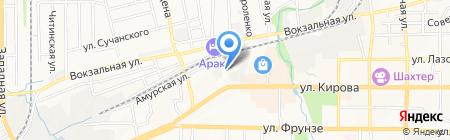 Салон мебели на карте Артёма