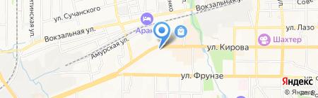 Город В на карте Артёма