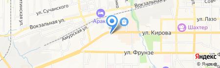 Иван-чай на карте Артёма