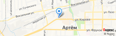 Интерьер-салон на карте Артёма