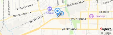 Камуфляж на карте Артёма