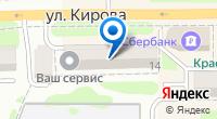 Компания КИВИ на карте